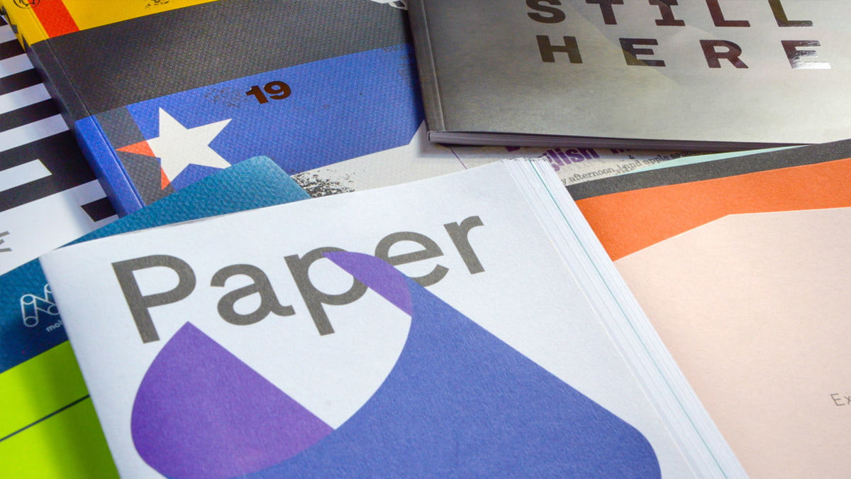 What Print Finish Should I Choose to Boost my Brand? Studio Seventeen (collage of magazines and journals)