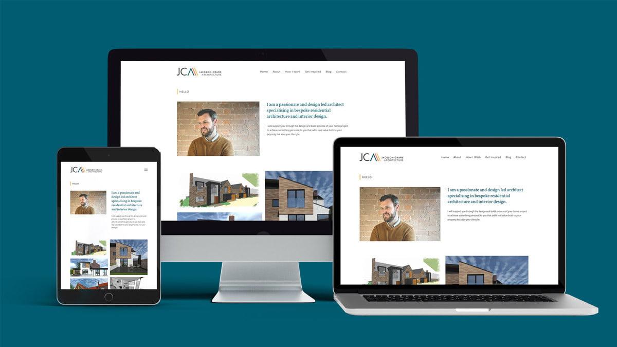Jackson-Crane Architecture website Studio Seventeen