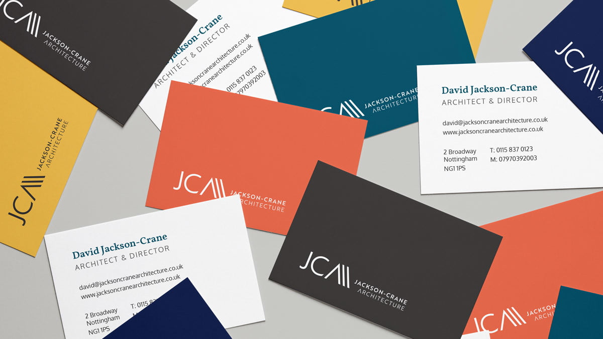 Jackson-Crane business cards Studio Seventeen